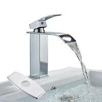 Bathroom Single Handle Vessel Sink Faucet Deck Mount One Hole Basin Mixer Tap