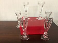7 Flûtes à champagne /Harcourt en cristal de Baccarat Prix à la pièce