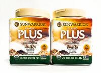 Sunwarrior Classic Plus Organic Vegan Fit & Lean Protein - 30 Servings VANILLA