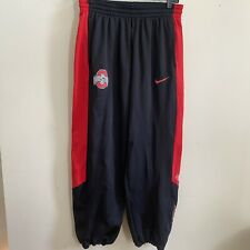 Nike NCAA Ohio State Buckeyes Elite Men's Jogger Pant Large Therma-fit Black Red