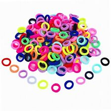 200 Stück Mehrfarbig Mini Haarband Elastische Haargummi vom Mädchen Baby...