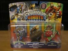 Skylanders Giants Golden Dragonfire Cannon Battle Pack Chop Chop Shroomboom New