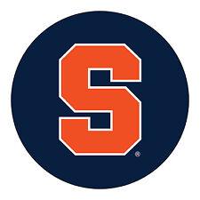 "Syracuse Orange Orangemen RR 4"" Round Vinyl Magnet Auto Home University of"