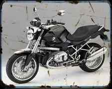 Bmw R 1200R Classic 11 A4 Metal Sign Motorbike Vintage Aged