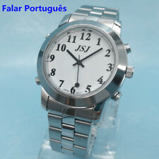 Portuguese Talking Watch for Blind or Low Vison People with Alarm Fuction