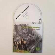 FORGET TGE HEROES : NEVER MIND (RADIO MIX) ♦ CD Single Promo ♦