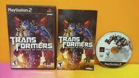 Transformers Revenge Fallen  - PS2 Playstation 2 - COMPLETE Game Tested 1 Owner