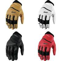 Icon Super Duty 2 Summer Leather Motorcycle Bike Gloves | All Colours & Sizes