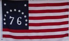 BENNINGTON 76 PATRIOTIC USA HISTORICAL FLAG - 1776 - AMERICAN REVOLUTION