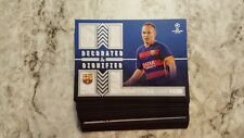 2016 Topps Soccer UEFA Champions League Decorated & Dignified Insert Set 25 card