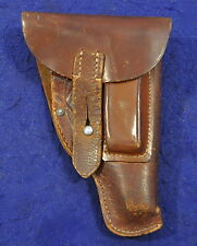 SCARCE! WWII GERMAN PRIMOSA MFG. POLICE HOLSTER FOR MAUSER & SAUER 38H PISTOL