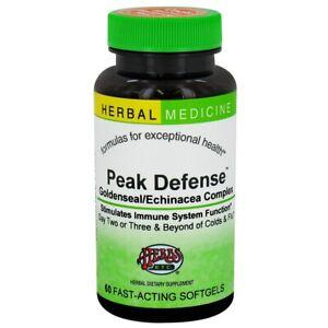Herbs Etc. Peak Defense™ -- 60 Softgels