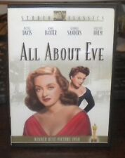 All About Eve (Dvd, 2003, Studio Classics) Bette Davis, Free Fast Shipping!