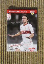 Stadion Aktuell, VFB STUTTGART: TSG HOFFENHEIM,10/11