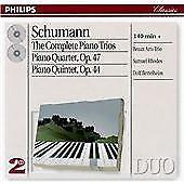 Schumann: The Complete Piano Trios/Piano Quartet/Piano Quintet, , Audio CD, New,