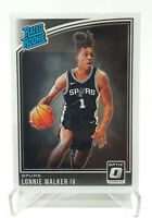 2018-19 Donruss Optic Rated Rookie Lonnie Walker IV Rookie Card RC