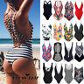 NEW Women's Bandage Padded Monokini One-piece Tankini Beach Swimsuit Bikini V298