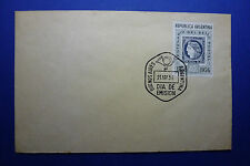 LOT 12430 TIMBRES STAMP ENVELOPPE TIMBRE SUR TIMBRE ARGENTINE ANNEE 1956