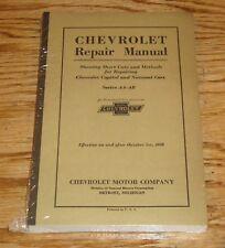 1927 1928 Chevrolet Passenger Car & Truck Repair Manual 27 28 Chevy