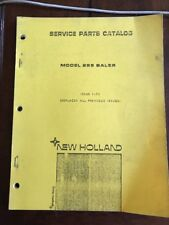 New Holland 285 Baler Parts Catalog Manual Book  NH ford Sperry