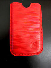 Louis Vuitton Handyhülle epi Leder rot red leather I phone mobile case  ID4814