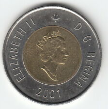 Canada 2001 2 Dollars - Elizabeth II (3rd portrait) KM 270 R943