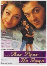 Aur Pyar Ho Gaya DVD Aishwarya Rai Bobby Deol    English Subtitles
