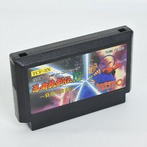 Famicom NINJA RYUKENDEN III 3 Cartridge Only Nintendo 2149 fc