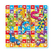 idrop Giant Floor Puzzle & Game Snakes and Ladders Puzzle Mat