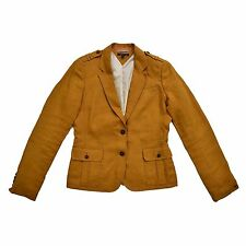 TOMMY HILFIGER Damen Blazer M 38 8 100% Leinen Jacke Cardigan Woman Jacket NEU