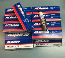 8 Pack of Spark Plug Specialty Marine Spark Plugs ACDelco MR43LTS 19355201