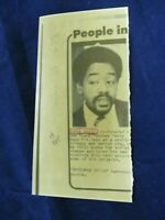 Wire Press Photo Vintage Bobby Seale co-founder of Black Panther Party cookbook