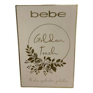 Bebe, Golden Touch Eyeshadow Palette New With Box