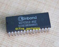 10pcs W27C512-45Z W27C512 Winbond DIP-28