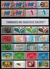 au choix votre série timbres de service neufs**