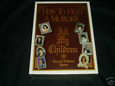 HOW TO HOST A MURDER ALL MY CHILDREN DECIPHER 1991