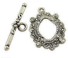 10 antique silver toggle fermoir pour collier bracelets fabrication de bijoux