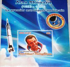 Madagascar Madagascar 2011 unlisted Alan shepard Memorial space Apollo 14 MNH