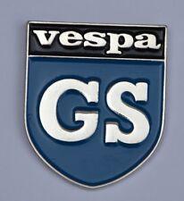 Vespa GS Scooter Shield Quality Enamel Pin Badge