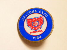 1984 Daytona Expo pin:   Honda