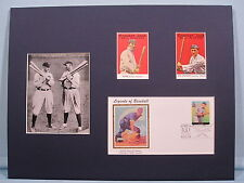 Honoring Detroit Tiger Great Ty Cobb and Shoeless Joe Jackson & First Day Cover