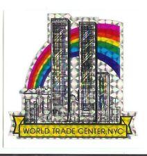 World Trade Center New York Vintage 80's Sticker Rare