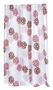 "Carnation Home Fashions ""Emma"" Extra Long Fabric Shower Curtain CAR-FSCXL-96/EMA"