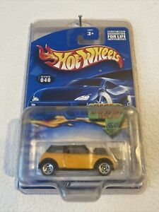 2001 Mini Cooper First Editions Hot Wheels Car Culture In Protective Case Model