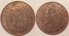 2 Centimes Napoléon III, 1862 K Bordeaux, SPL/SUP !!