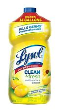 Lysol Clean & Fresh Multi-surface Cleaner, 28 0z NEW