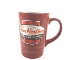 Tim Hortons Cafe & Bake Shop Limited Edition Original Embossed Label Mug 2011