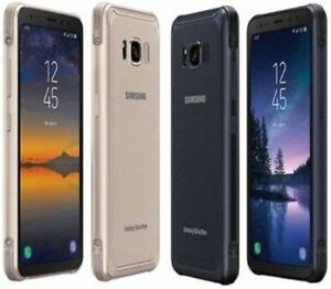 Samsung Galaxy S8 Active SM-G892A 64GB Unlocked AT&T T-Mobile Phone Pre-owned