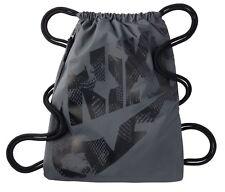 Nike HERITAGE DRAWSTRING Gym Sack Pack, BA5351 021 DARK GREY/BLACK/BLACK