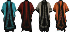 Acrylic Poncho Machine Washable Jumpers & Cardigans for Women